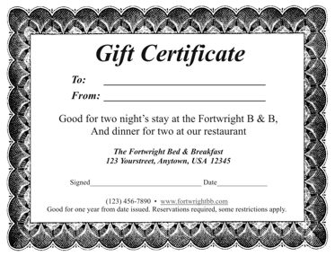 Raffle Certificate Template Yelommyphonecompanyco - Date night gift certificate templates