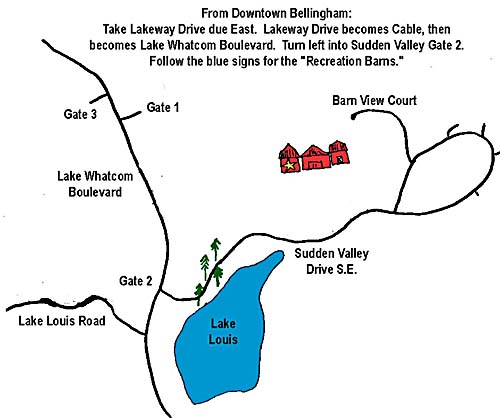 Directions to Sudden Valley
