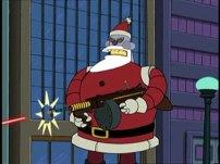 Angry Santabot
