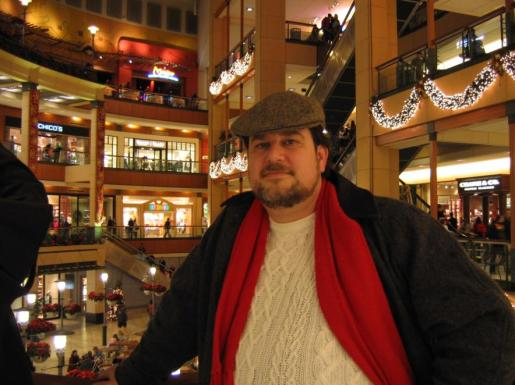 The author at Pacific Place, Seattle, 2005