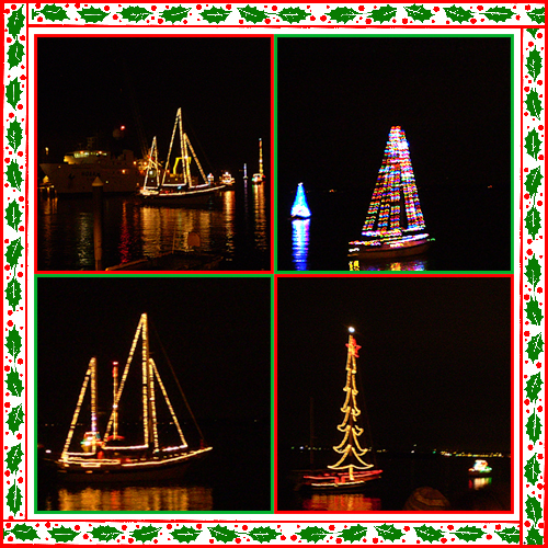 Bellingham Lighted Boat Parade, December 2008